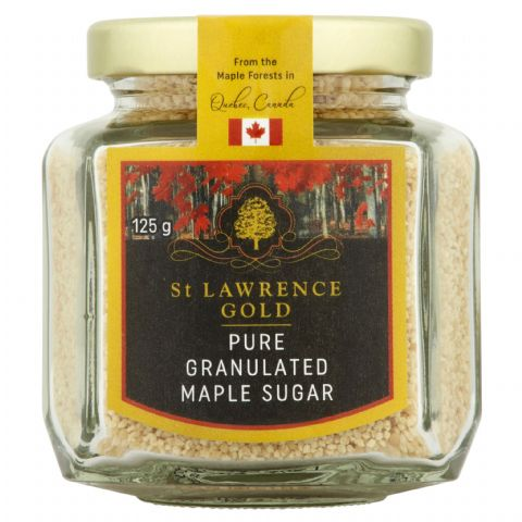 St Lawrence Gold  Pure Maple Sugar 125g